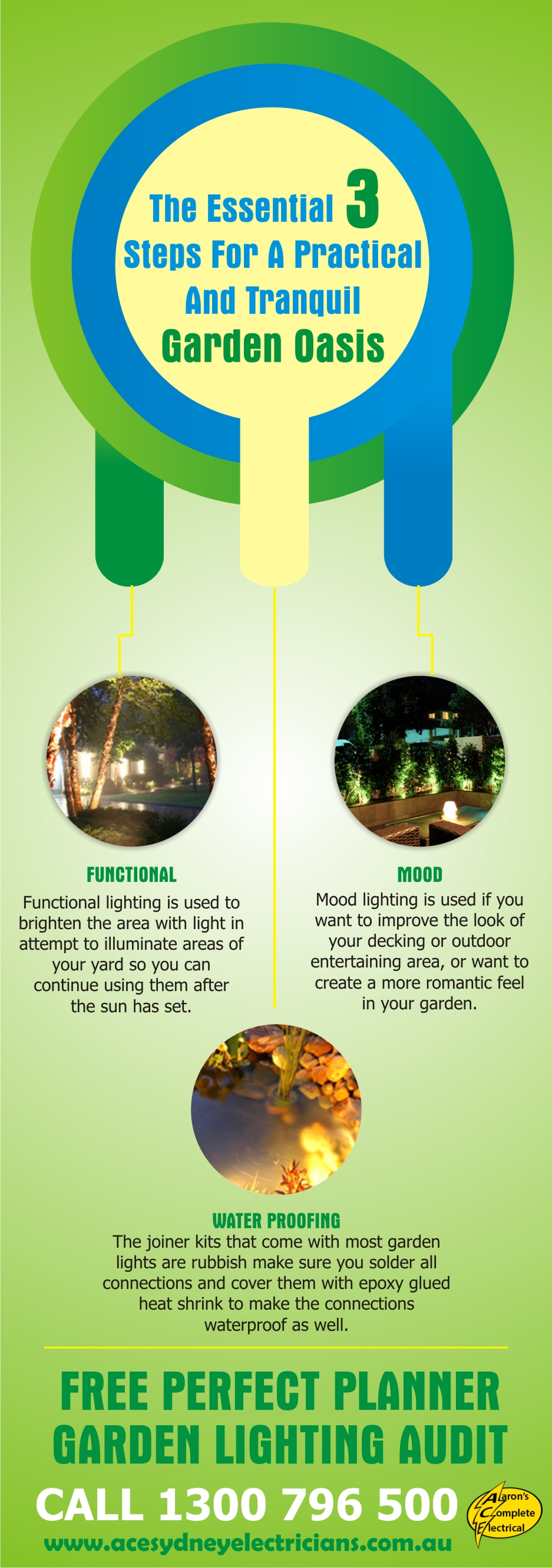 The Essential 3 Steps For A Practical And Tranquil Garden Oasis