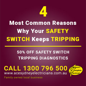 4 Most Common Reasons Why Your SAFETY SWITCH Keeps TRIPPING