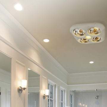 Where To Put A Bathroom Exhaust Fan, How To Replace Bathroom Vent Light Heater