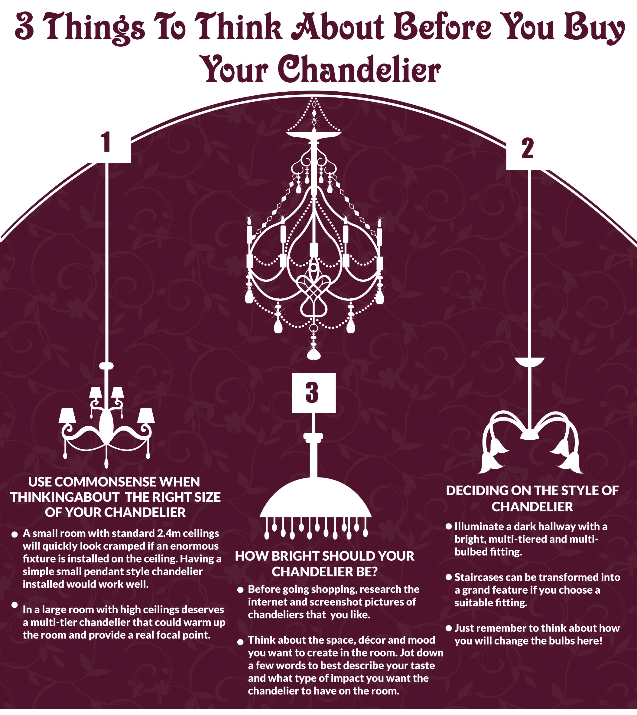 3 Things To Think About Before You Buy A Chandelier